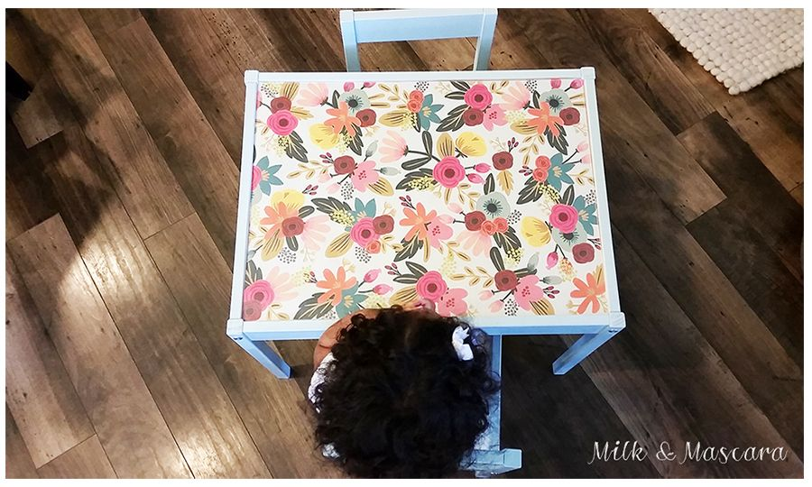 Ikea Latt Table Hack Papersource Benjamin Moore Seacliff Heights Childrens Table Set Childrens Table Ikea Kids Table