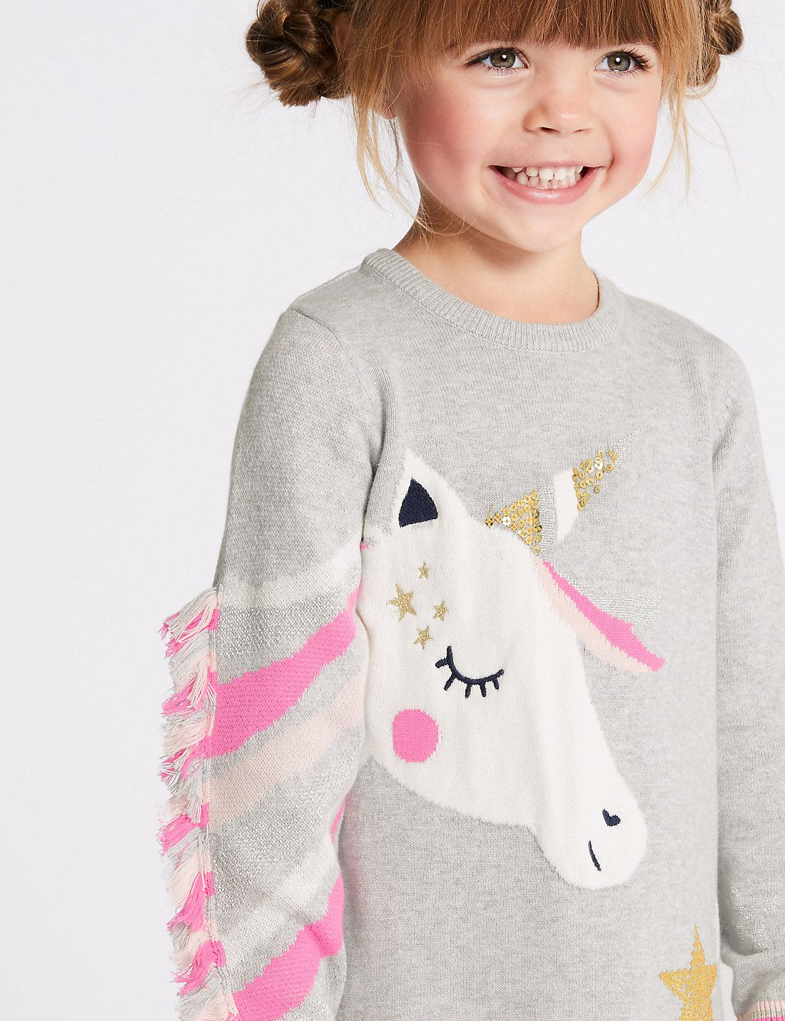 231be7097f Unicorn Knitted Dress with Tights (3 Months - 7 Years)