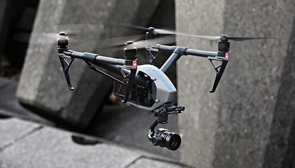 Çift Kameralı Drone: DJI Inspire 2