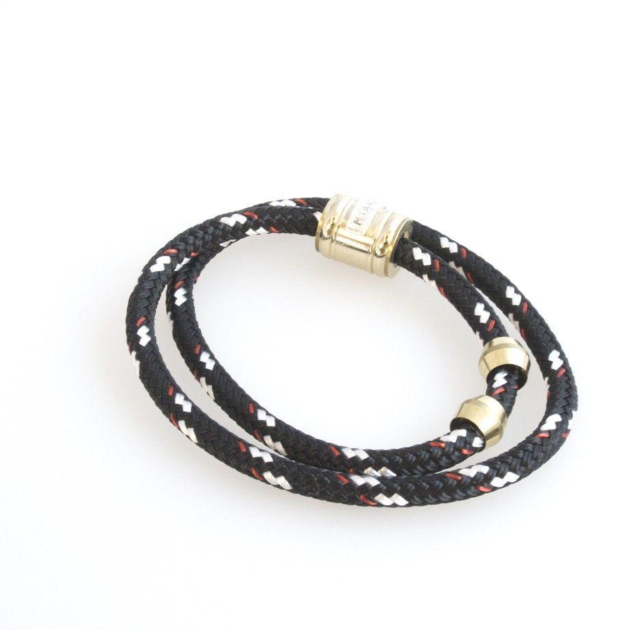 Miansai Double Wrap K N I G H T Hk 650 Double Wrap Rope Bracelet Miansai