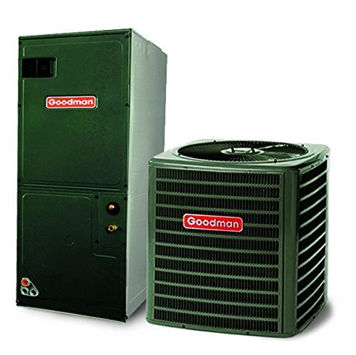 2 5 Ton 13 Seer Goodman Air Conditioning System Gsx1303 Air Conditioning System Heat Pump System Air Conditioner Accessories