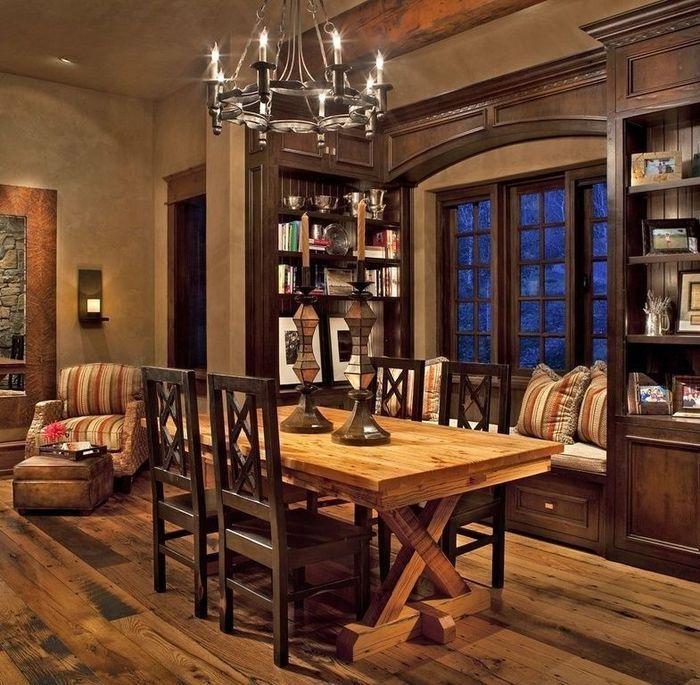 AuBergewohnlich #Esszimmer Designs Esszimmer Ideen: Rustikales Esszimmer #Zuhause  #Hausgemachte #Mesas #HausgemachteWohnkultur
