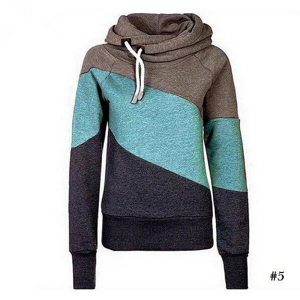 c909dba78203ad Color Patch Drawstring Cropped Sweatshirt in 2019 | Things to Wear |  Pinterest | Sweatshirts, Color khaki and Patches