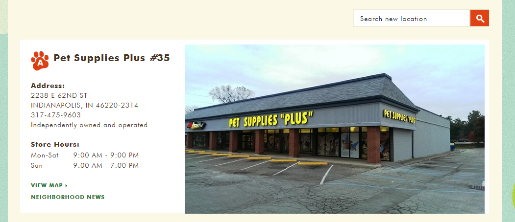 Pet Supplies Plus Broad Ripple Last Sunday Of Each Month 12 4pm