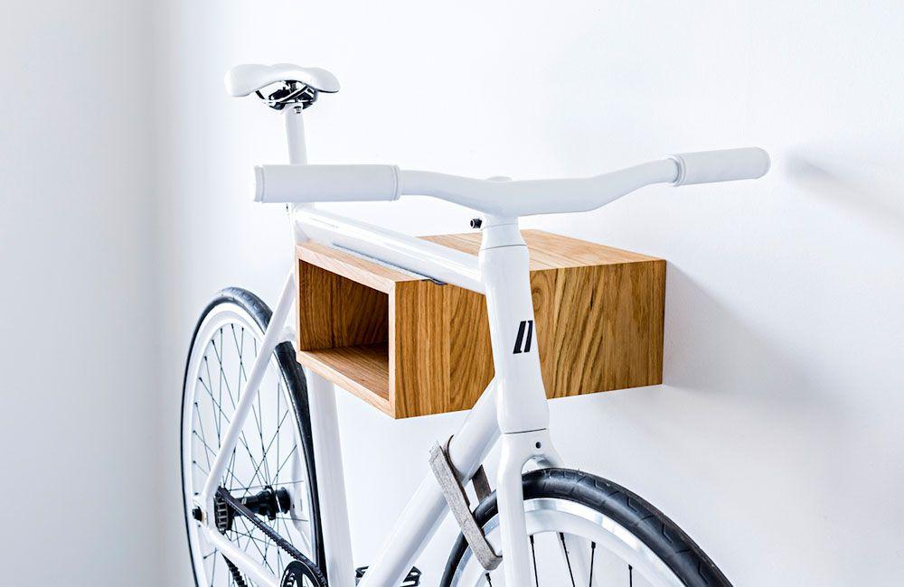 Fahrradhalterung Wand Holz neues wandregal fürs fahrrad mikili gîpon wandregal markt und
