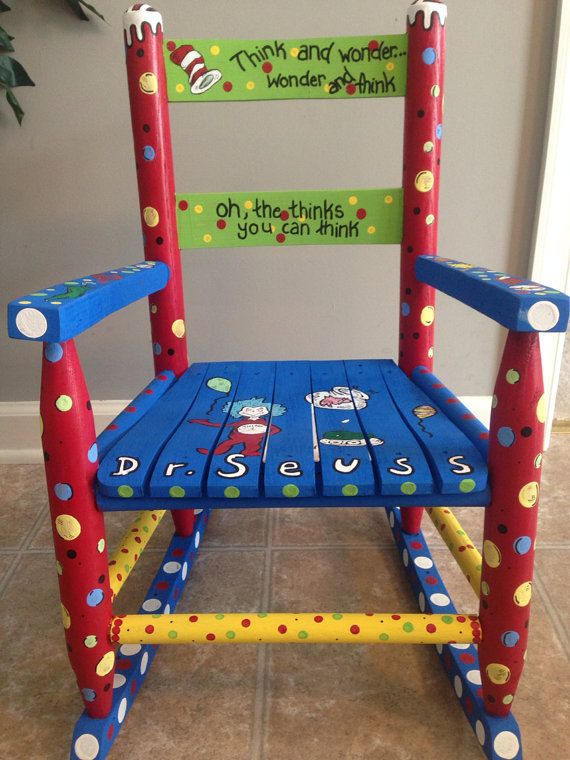 Dr Seuss Rocking Chair By Danapietraccini On Etsy 100 00