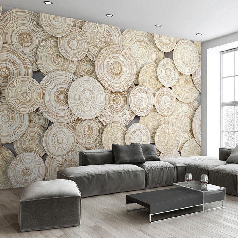 Goedkope Beibehang custom mural behang moderne ontwerp 3d houten ...