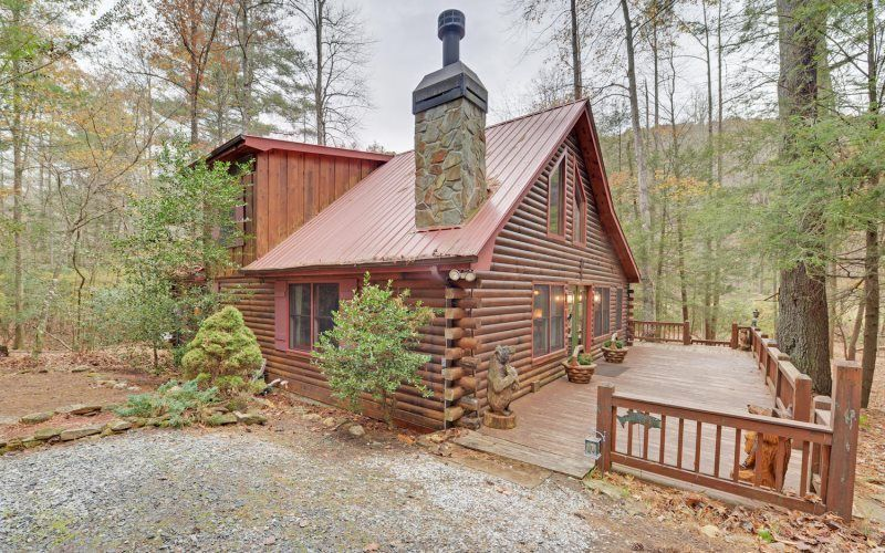 Reel medicine blue ridge ga cabin for rent blue ridge for Rent a cabin in georgia mountains