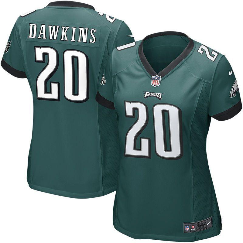 Brian Dawkins Philadelphia Eagles Nike Women's Game Jersey