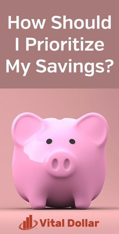 How Should I Prioritize My Savings? | Small business credit cards, Savings, investment, Paying ...