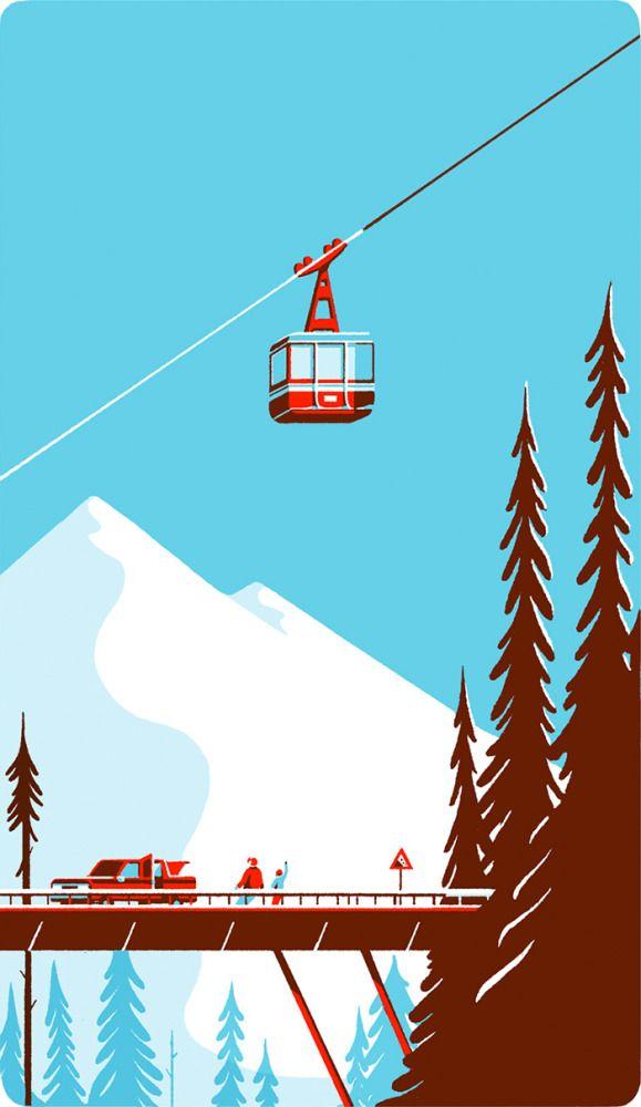 Illustrations by Tom Haugomat | Inspiration Grid | Design Inspiration