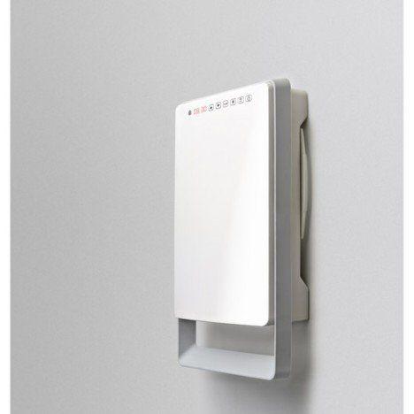 Radiateur Soufflant Salle De Bain Fixe électrique AURORA Touch - Chauffage electrique salle de bain