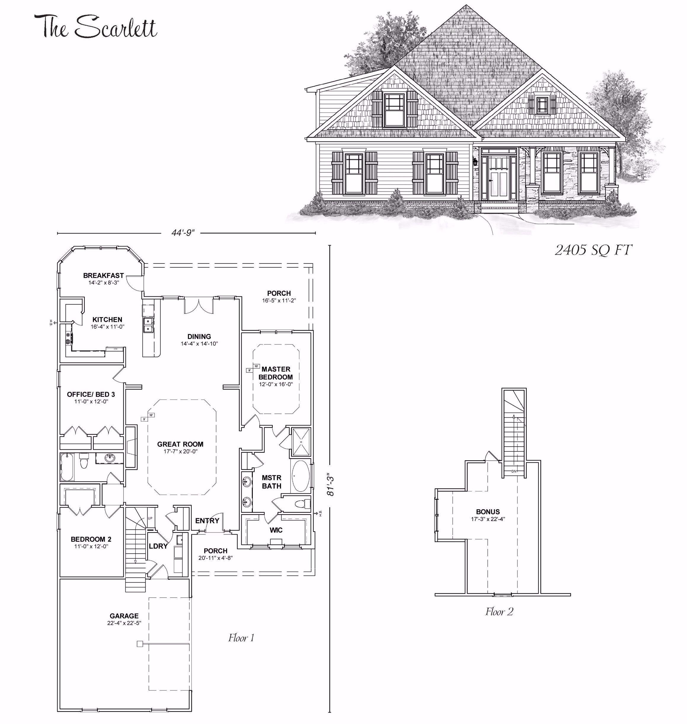 The Scarlett Stoneridge Homes Huntsville Al Custom Home Builders And Madison County Alabama