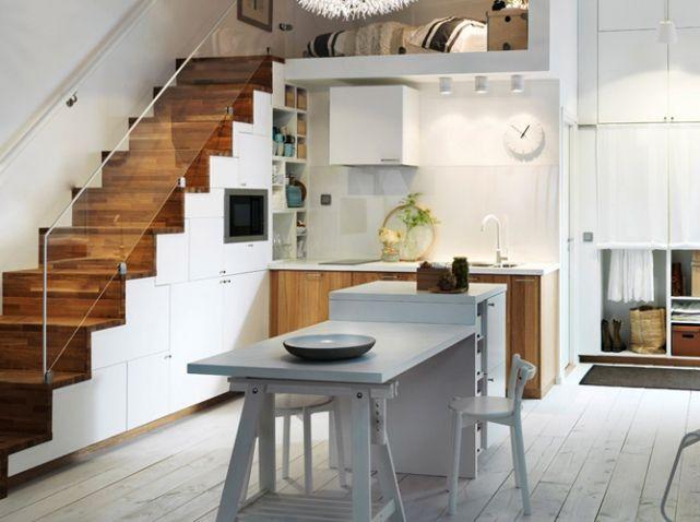 id es d co pour relooker son escalier elle d coration d co pinterest maison ikea et. Black Bedroom Furniture Sets. Home Design Ideas