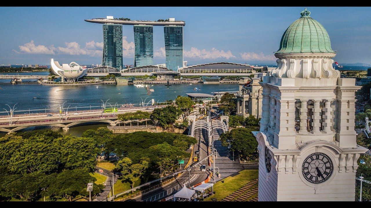 Singapore Drone Aerial Aerial Video Singapore World Photography