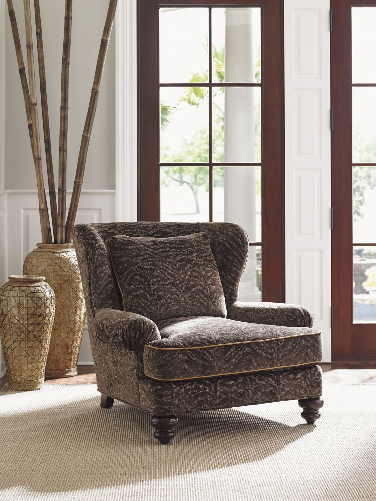 Kilimanjaro Kent Chair Lexington Home Brands Leather
