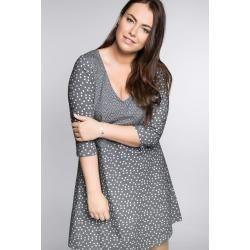 Reduzierte Taillierte Kleider - Große Größen: Kleid im ...