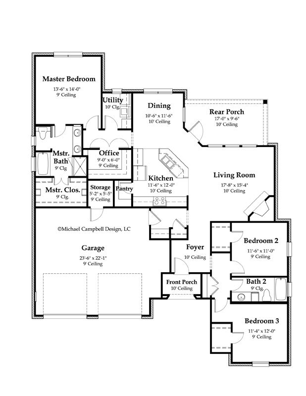 french cottage floor plans