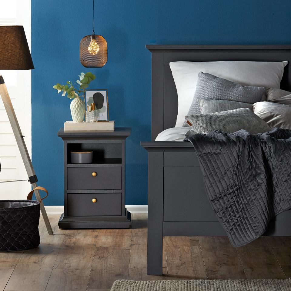 Bett Pariso (180x200, matt grau) (mit Bildern) Bett mit