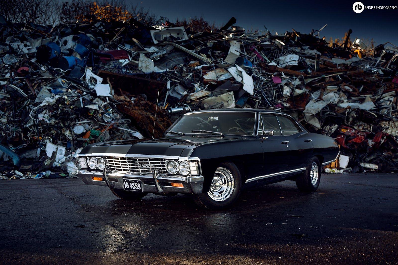 Pin Von Star Car Hire Auf Supernatural 1967 Chevy Impala Metallicar