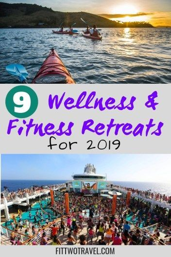 9 Yoga, Wellness, and Active vacations and fitness retreats to take this year #Fitness #health #retr...