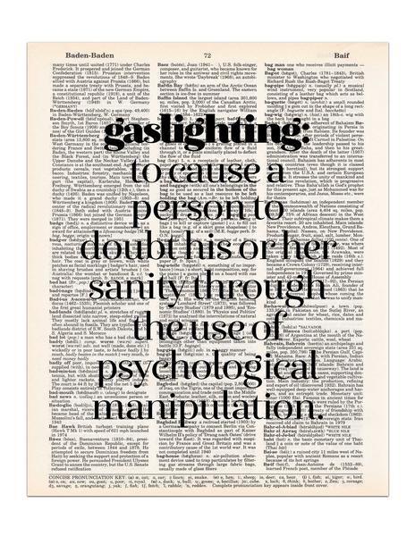 Image result for gaslighting definition