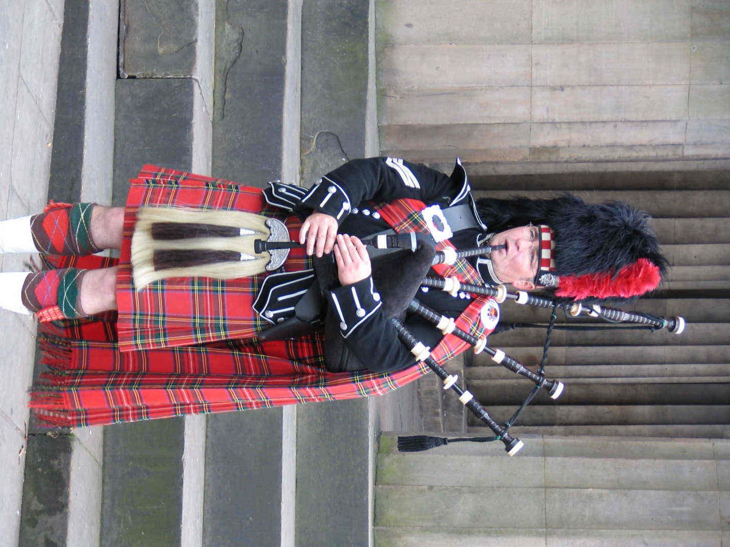 The most beautiful sound in the world? Bagpipes!! And Men