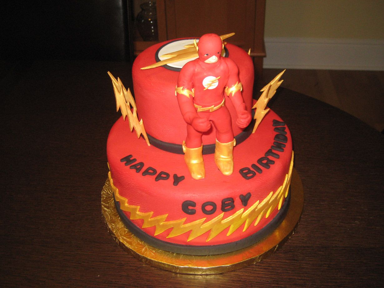 "flash birthday cake | Comics ""The Flash"" birthday cake ..."