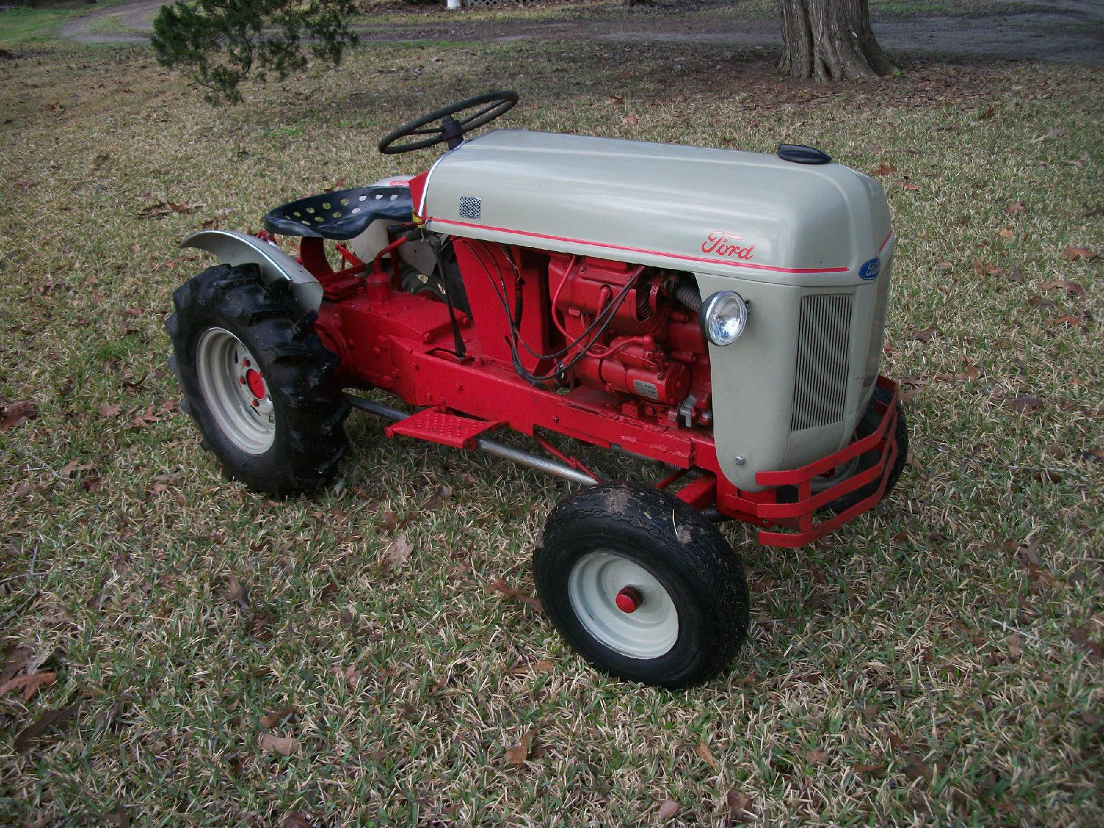 Miniature 8n ford tractor look alike with kohler engine for Ford garden tractor