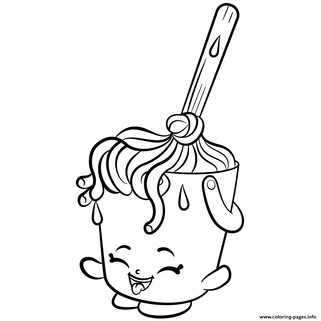 Cleaning Molly Mops Shopkins Season 2 Coloring Pages Printable And Book To Print For Free Find More Online Kids Adults Of