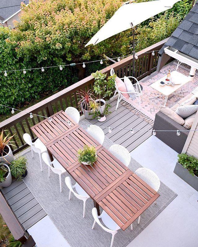 Medan White Lounge Chair Article Backyard Patio Designs Deck