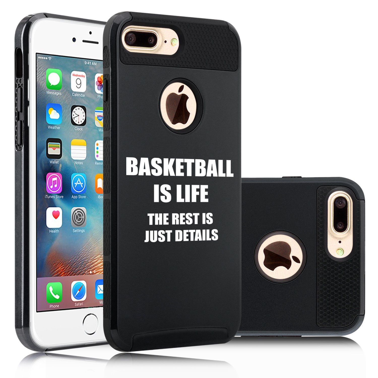 Details About For Iphone X Xs Max 7 8 Plus Dual Shockproof Hard Case Cover Basketball Is Life Iphone Rose Gold Iphone Case Iphone Cases