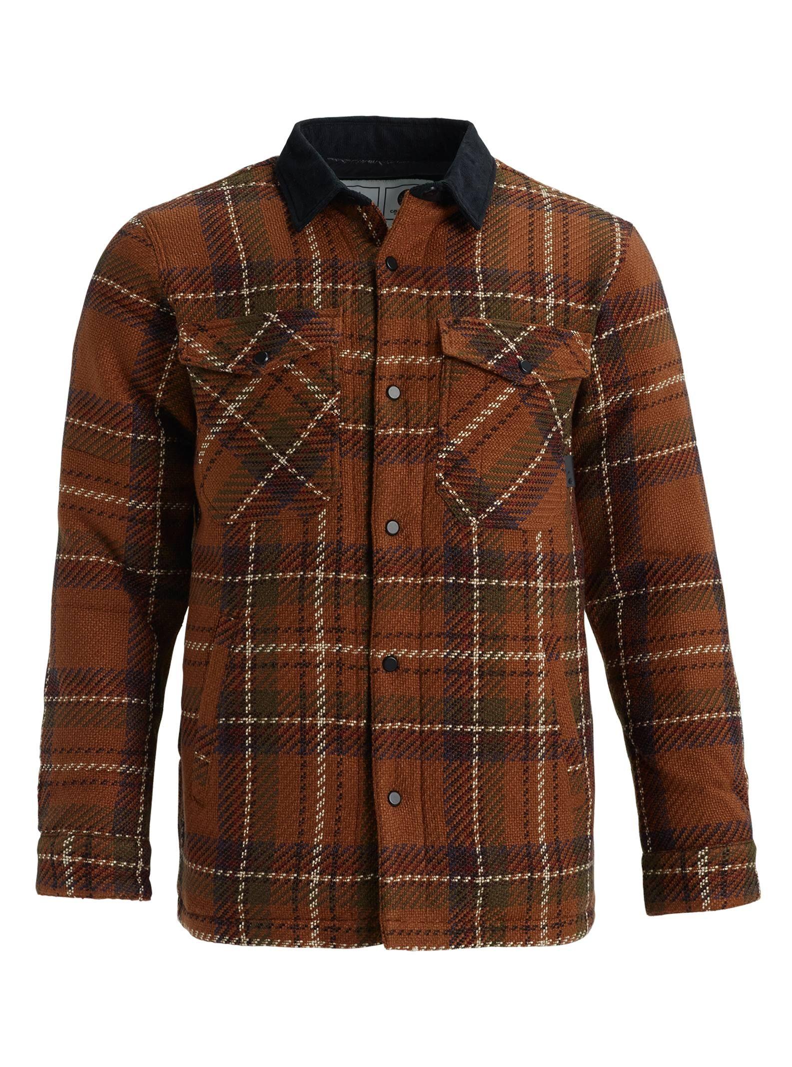 6a05c728 Men's Carhartt WIP x Burton Gambrel Down Shacket Button Down Shirt, Men  Casual