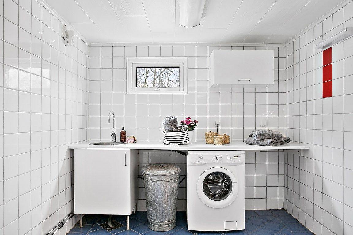 Inredning tvättstuga inspiration : Tvättstuga & badrum med dusch | Inspiration for our new home ...