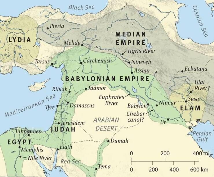 Babylonian Empire | The mouth of a lion   Babylonian empire | MAPS