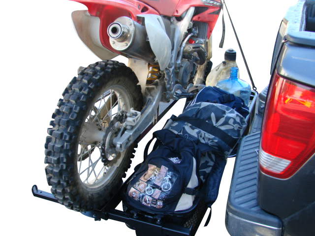 1000 lb Capacity Motorcycle Tow Hitch Carrier Rack with