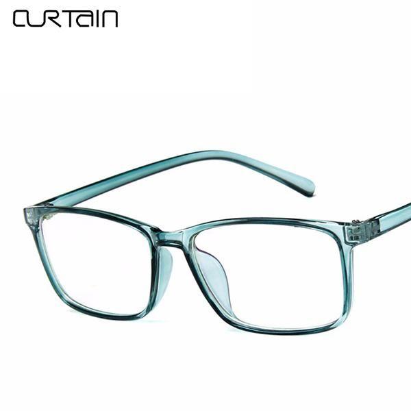 ed73e900a33  FASHION  NEW 2018 Fashion Retro Square Eyeglasses Frame Men Women Vintage  Optical Spectacle Glasses Tinted Frame Clear Lens Goggle Eyewear
