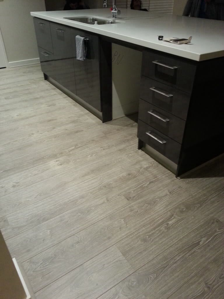Kitchens Floors Bolero Dusty Rock Floorwith A White Kitchen Not Black Our