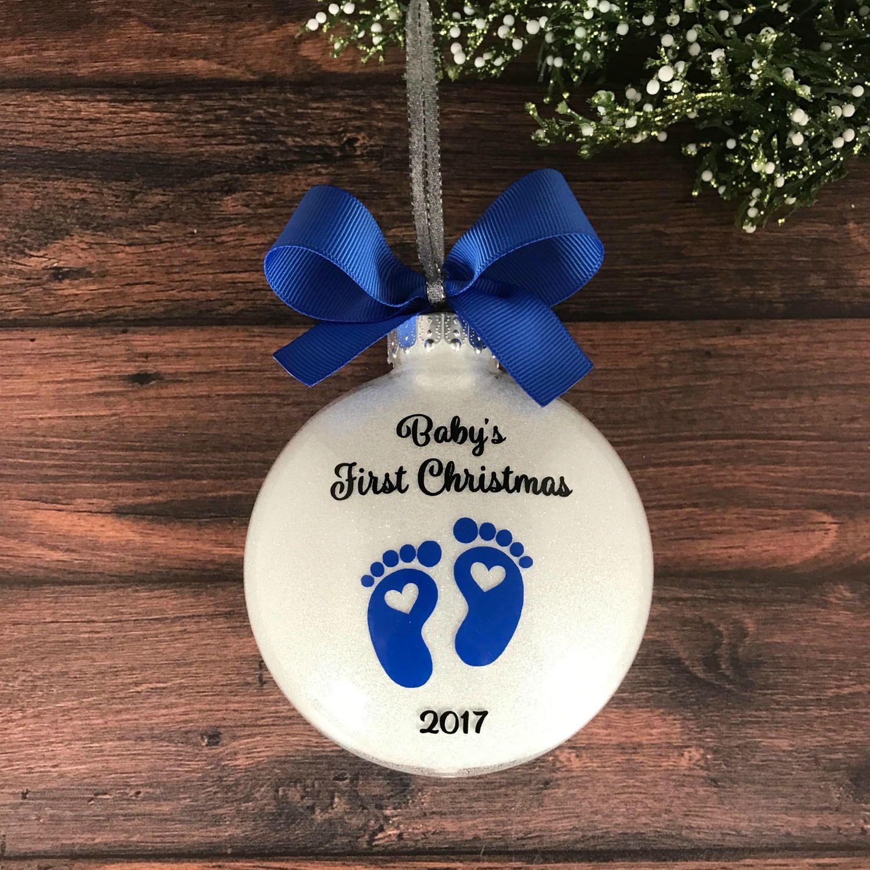 expectant parents christmas ornament