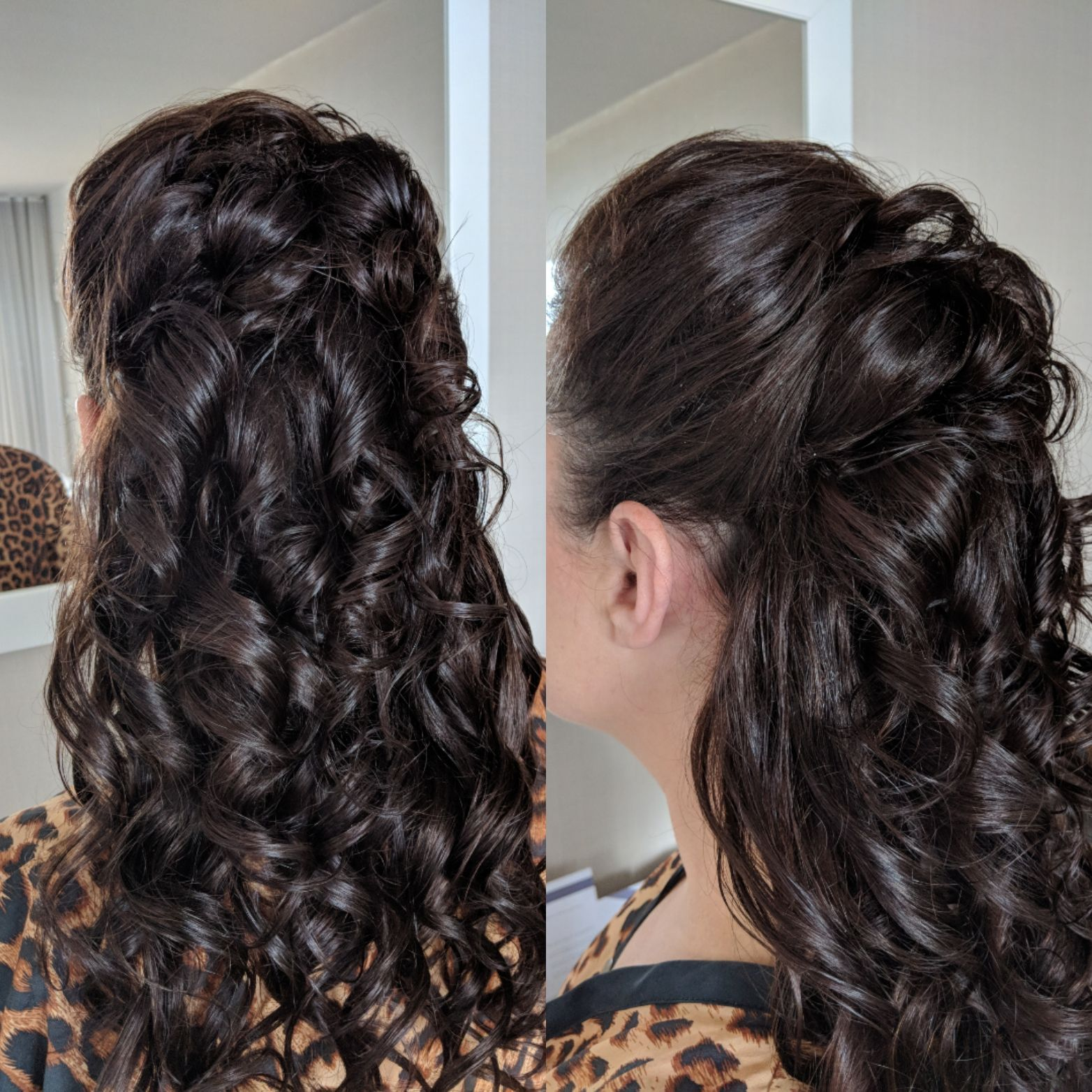 Tight Curls With Some Bouncy Volume Hair Styles Wedding Hair And Makeup Long Hair Styles
