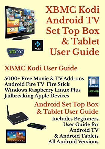 xbmc kodi android internet tv tablet user guide new july 2017 rh pinterest com Android Tutorial Learn to Use Android