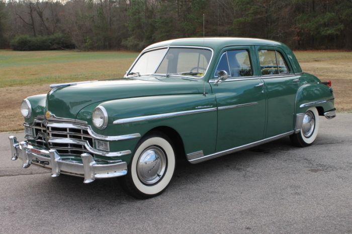 1949 Chrysler Windsor 251 Spitfire I6 3sp Manual 3 90 Open Diff Chrysler Windsor Dream Cars Chrysler