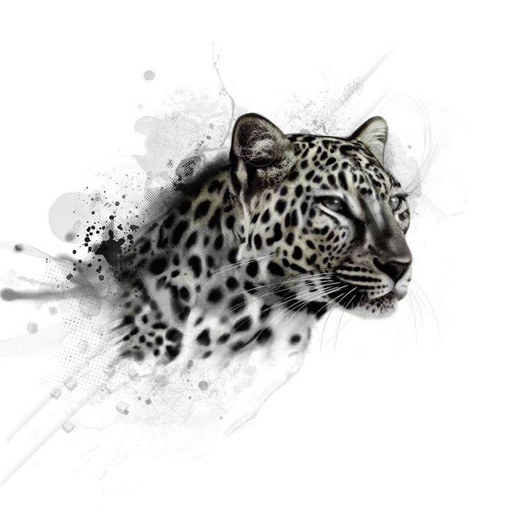 Leopardo tatto | tatoo | Pinterest | Tatuajes, Tatuaje de montaña y ...
