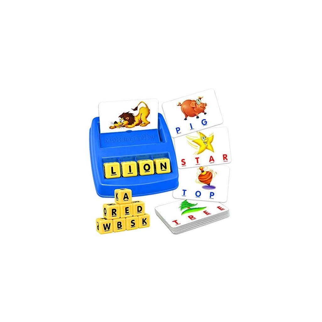 Toys & Games Educational Toys Teaisiy Matching Letter Game for ...