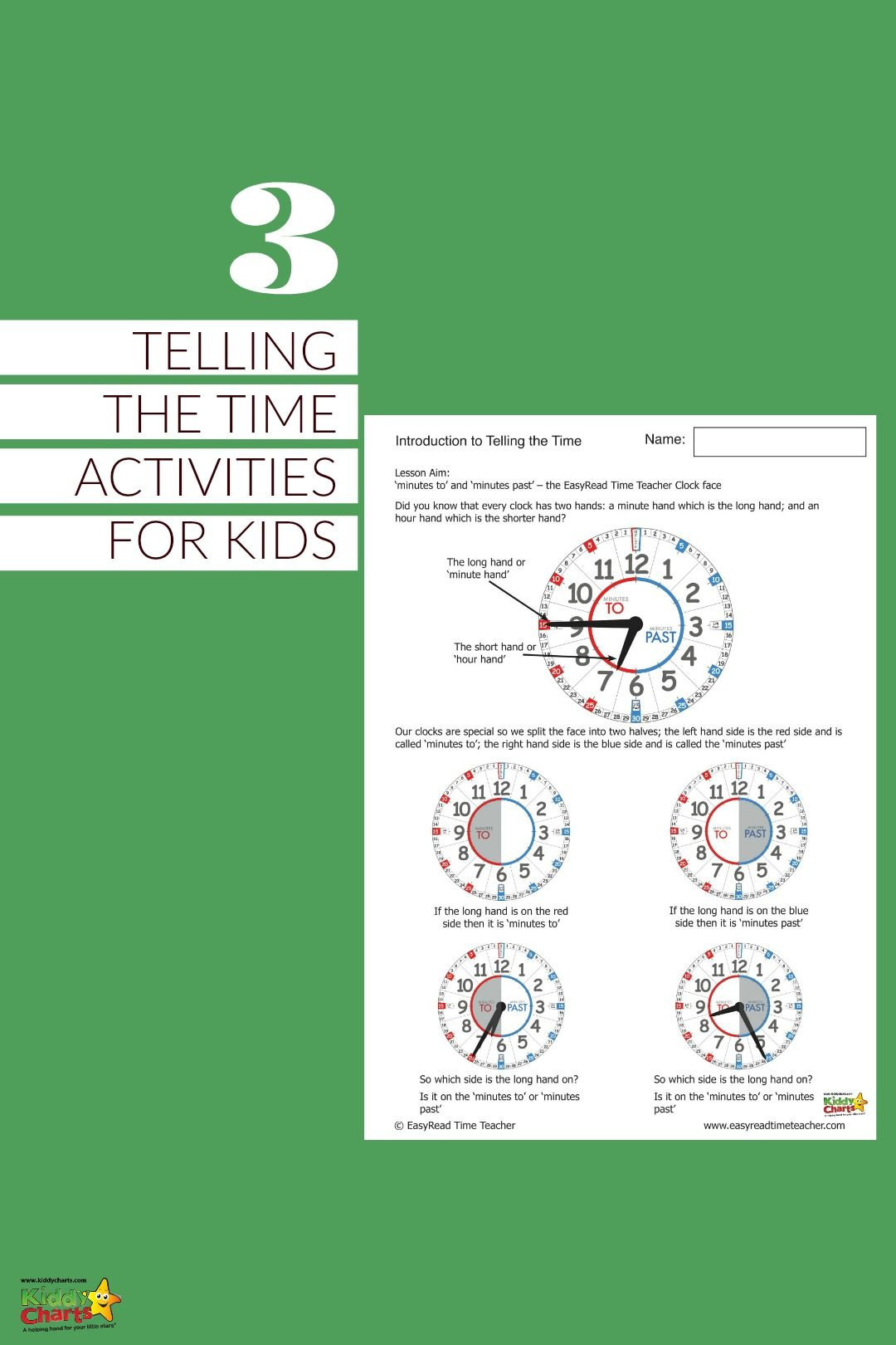 Learning To Tell The Time Worksheets With Images