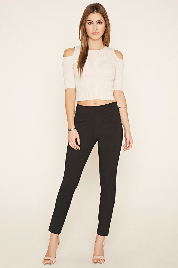 4aae72cd3efc High-Waisted Trousers