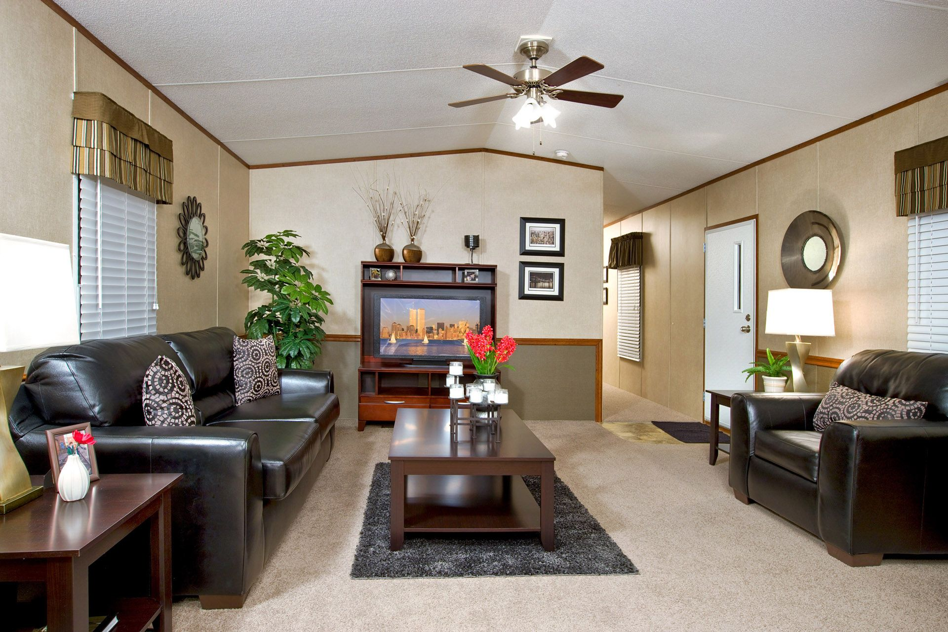 The Yes   YES16804UH   Mobile home renovations, Mobile home living, Living room remodel