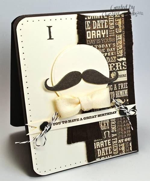 I mustache you...