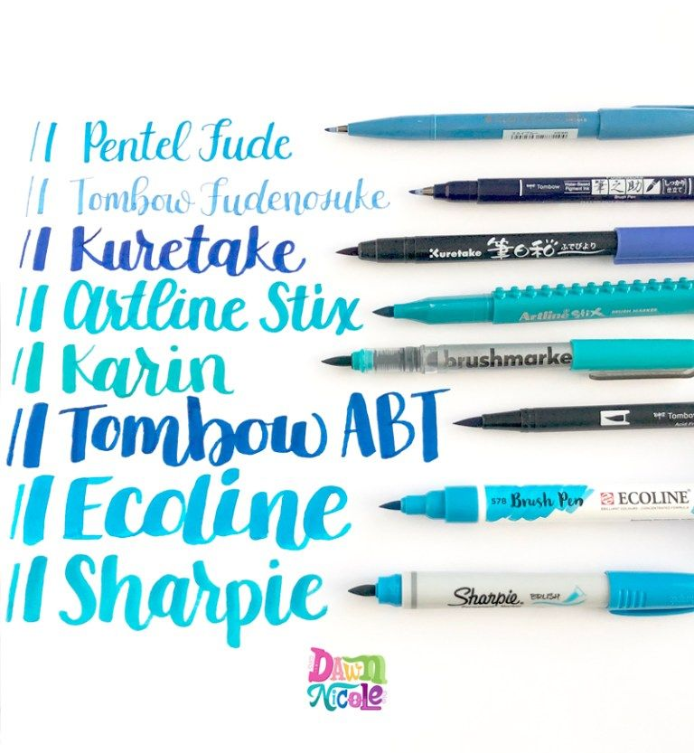 Karin Brushmarkerpro Review Hand Lettering Tutorial Best