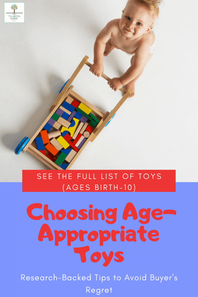 Choosing Age Appropriate Toys for Kids {ages Birth10